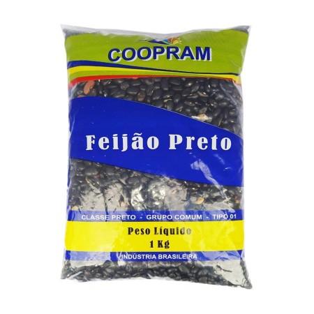 Feijão preto PACOTE 1 QUILO
