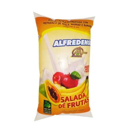 Bebida Láctea Alfredense Salada de Frutas 1 LITRO